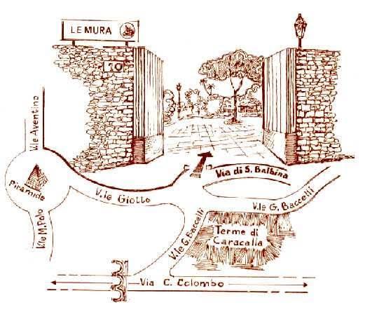 piantina vivai le mura