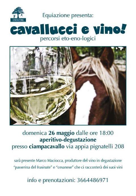 Cavallucci e Vino [locandina]