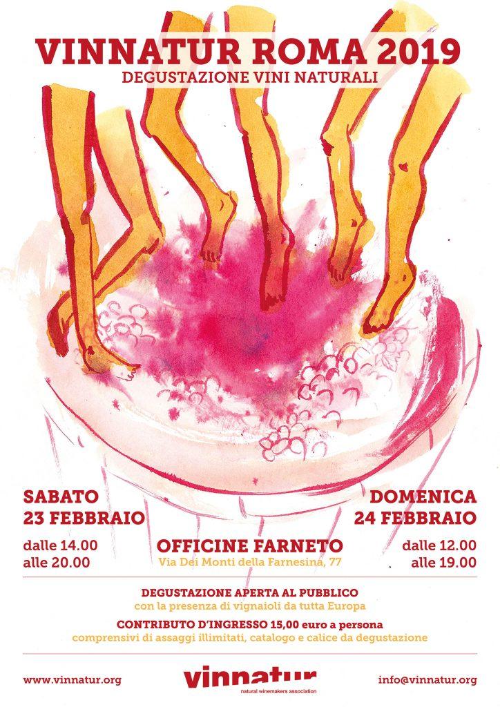 VinNatur Roma 2019: il 22 ed il 23 febbraio Enoteca SO2 incontra i produttori per fare Festa